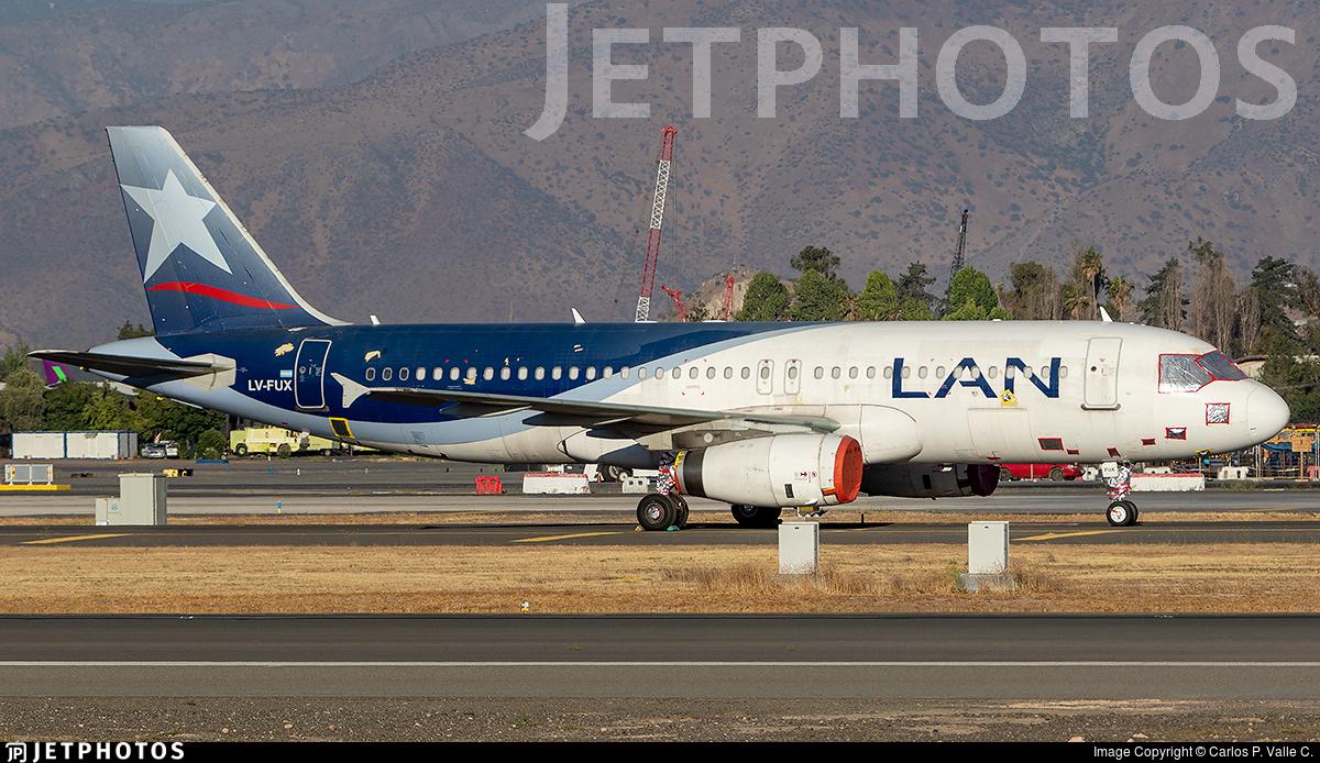 LV-FUX - Airbus A320-233 - LAN Argentina