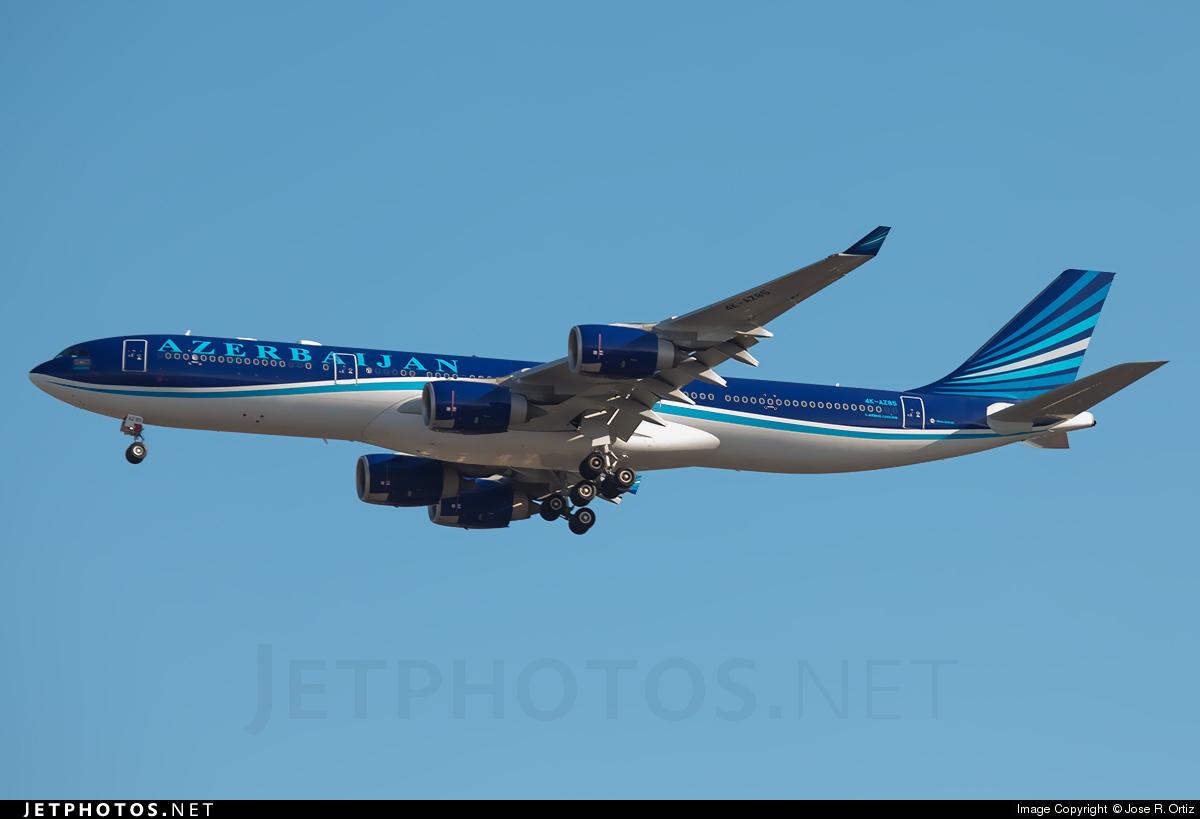 4K-AZ85 - Airbus A340-542 - AZAL Azerbaijan Airlines