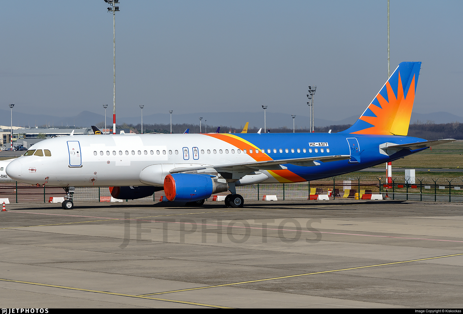 HZ-AS17 - Airbus A320-214 - Untitled