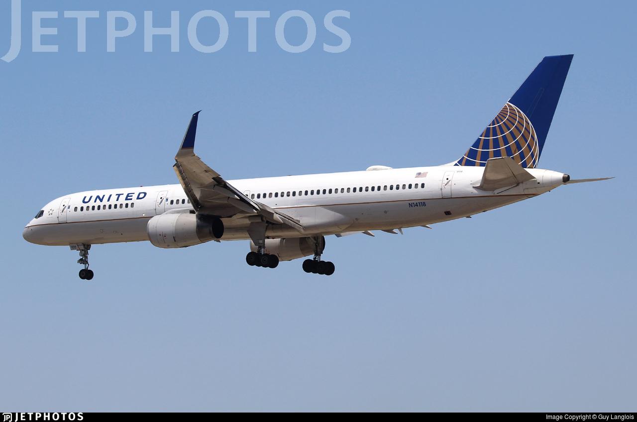 N14118 - Boeing 757-224 - United Airlines