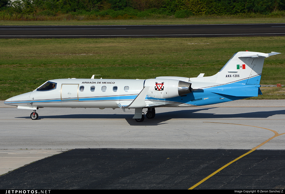 ANX-1206 - Bombardier Learjet 31A - Mexico - Navy