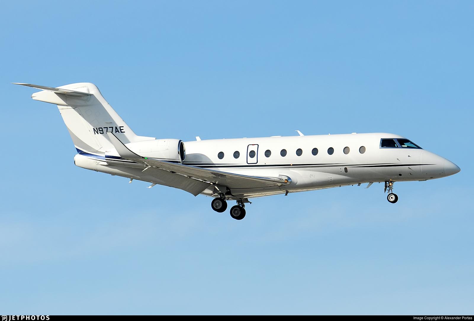 N977AE - Gulfstream G280 - Private