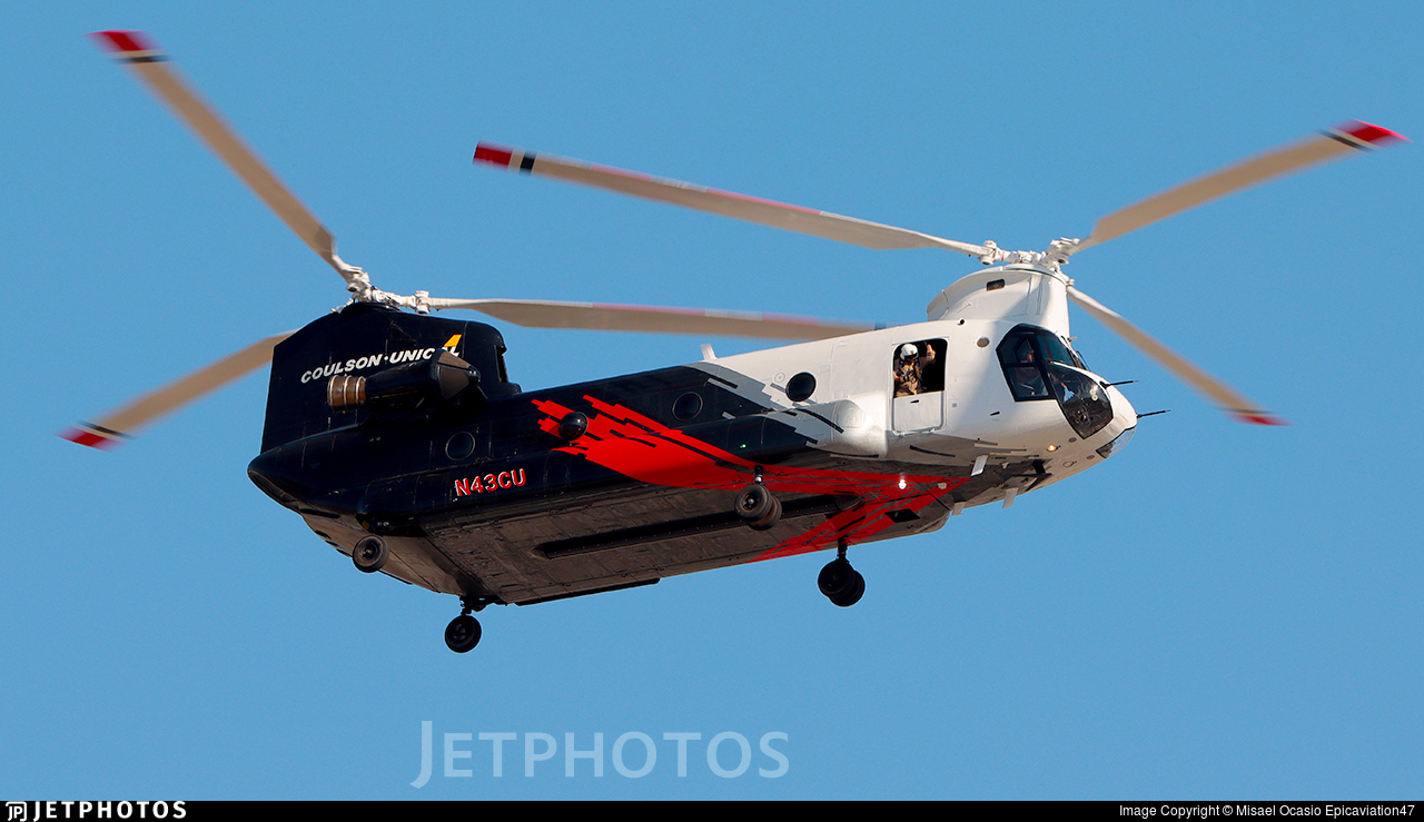 N43CU - Boeing CH-47D Chinook - Coulson Flying Tankers