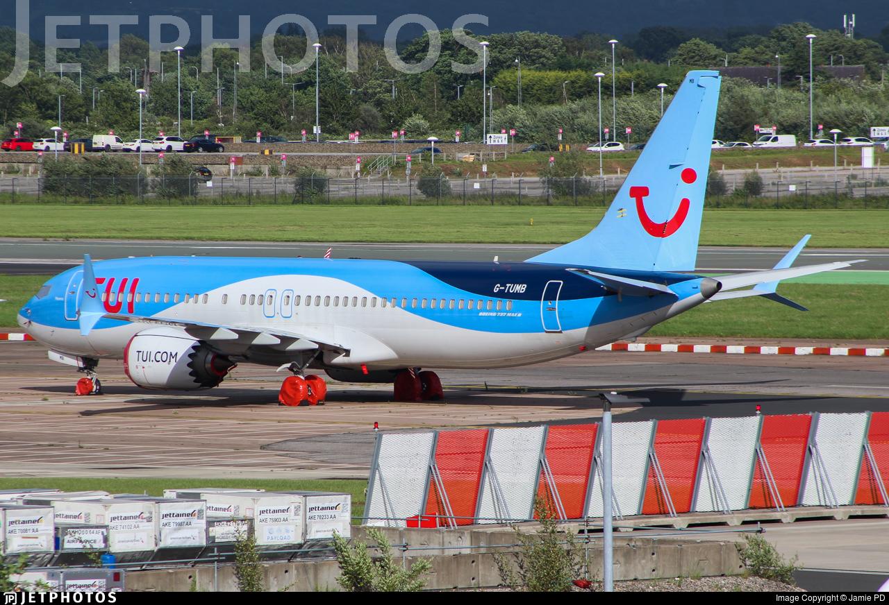 G-TUMB - Boeing 737-8 MAX - TUI