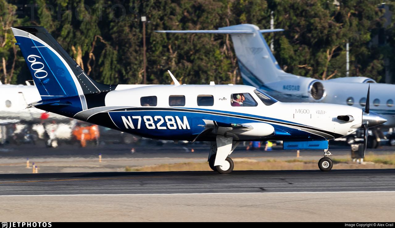 N7828M - Piper PA-46-M600 - Private