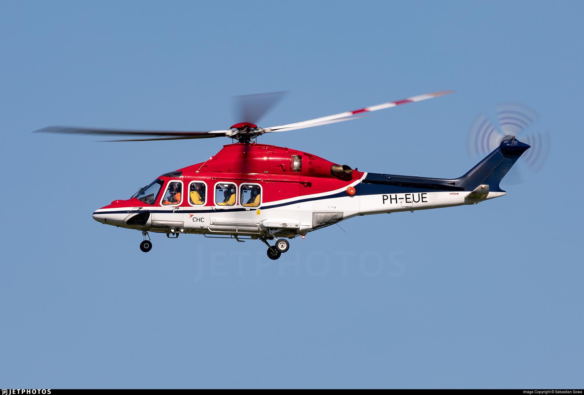 PH-EUE - Agusta-Westland AW-139 - CHC Europe