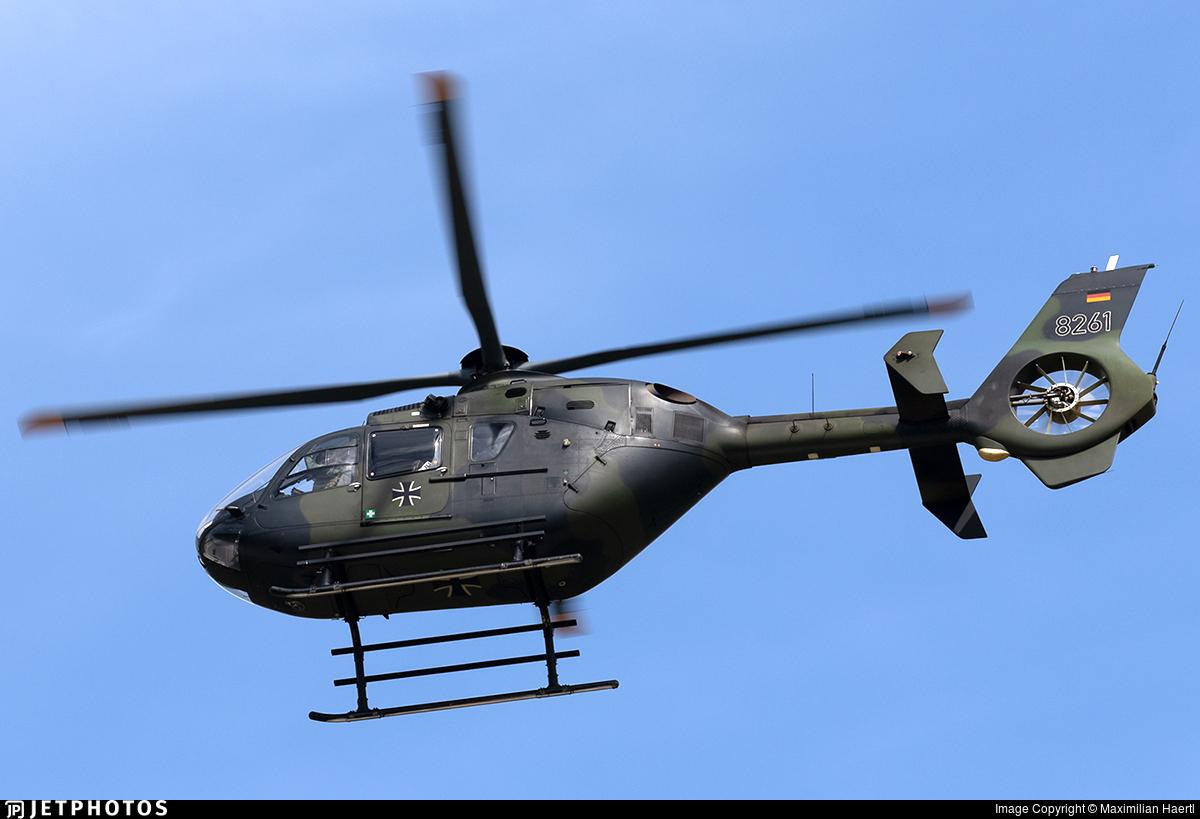 82-61 - Eurocopter EC 135T1 - Germany - Army