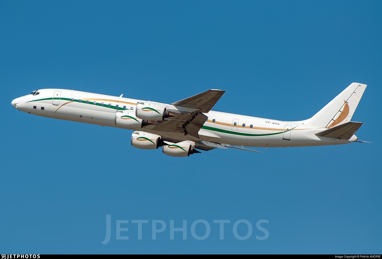 VP-BHS - Douglas DC-8-72 - Private