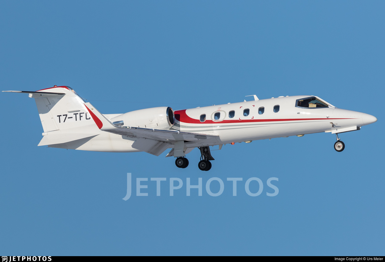 T7-TFC - Bombardier Learjet 31A - Private