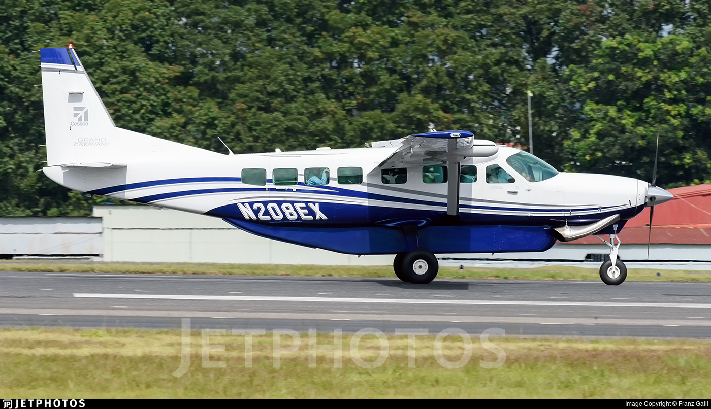 N208ex Cessna 208b Grand Caravan Ex Textron Aviation Franz Galli Jetphotos