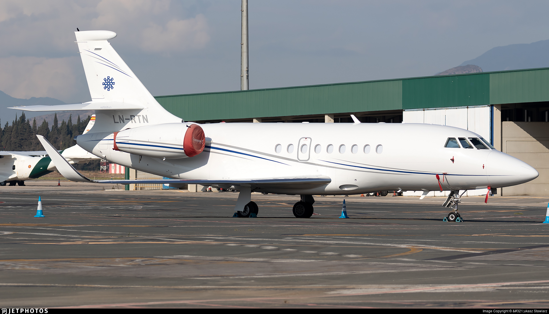 LN-RTN - Dassault Falcon 2000LX - Rely AS
