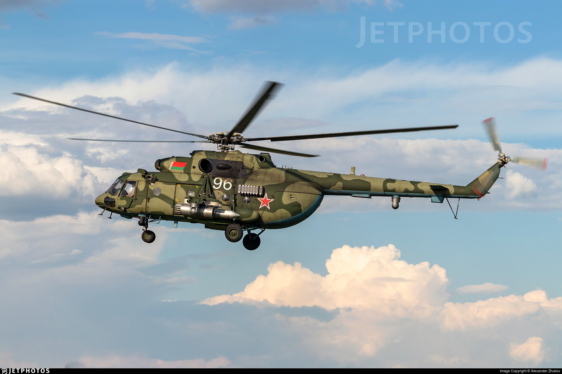 96 - Mil Mi-8MTV-5 Hip - Belarus - Air Force