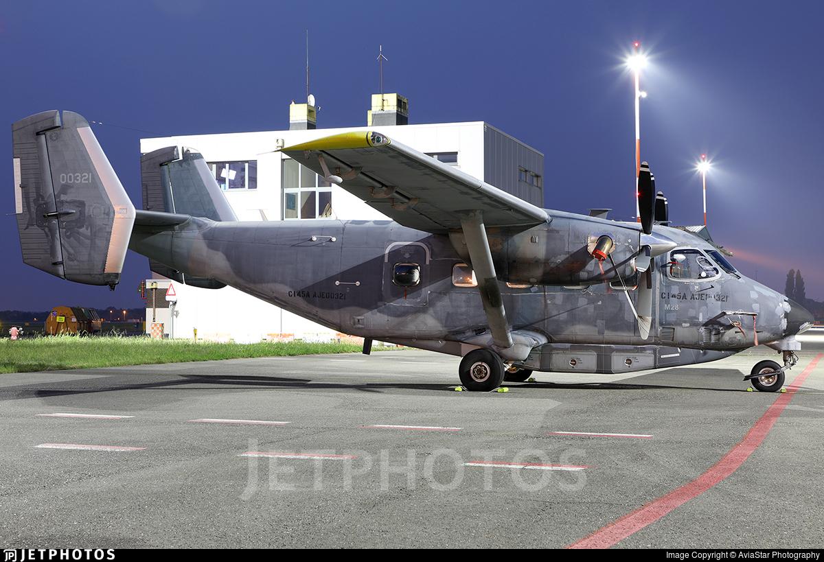 N279DH - PZL-Mielec C-145A Combat Coyote - Private