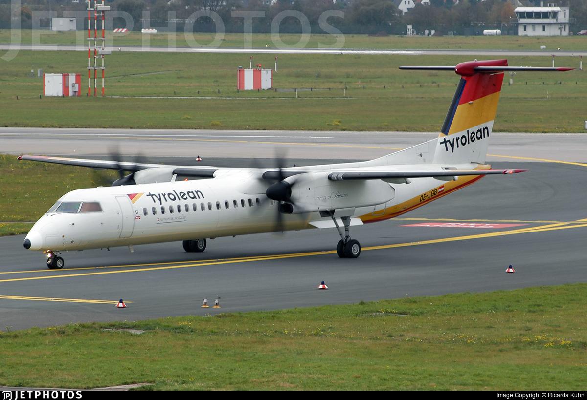 OE-LGB - Bombardier Dash 8-Q402 - Tyrolean Airways