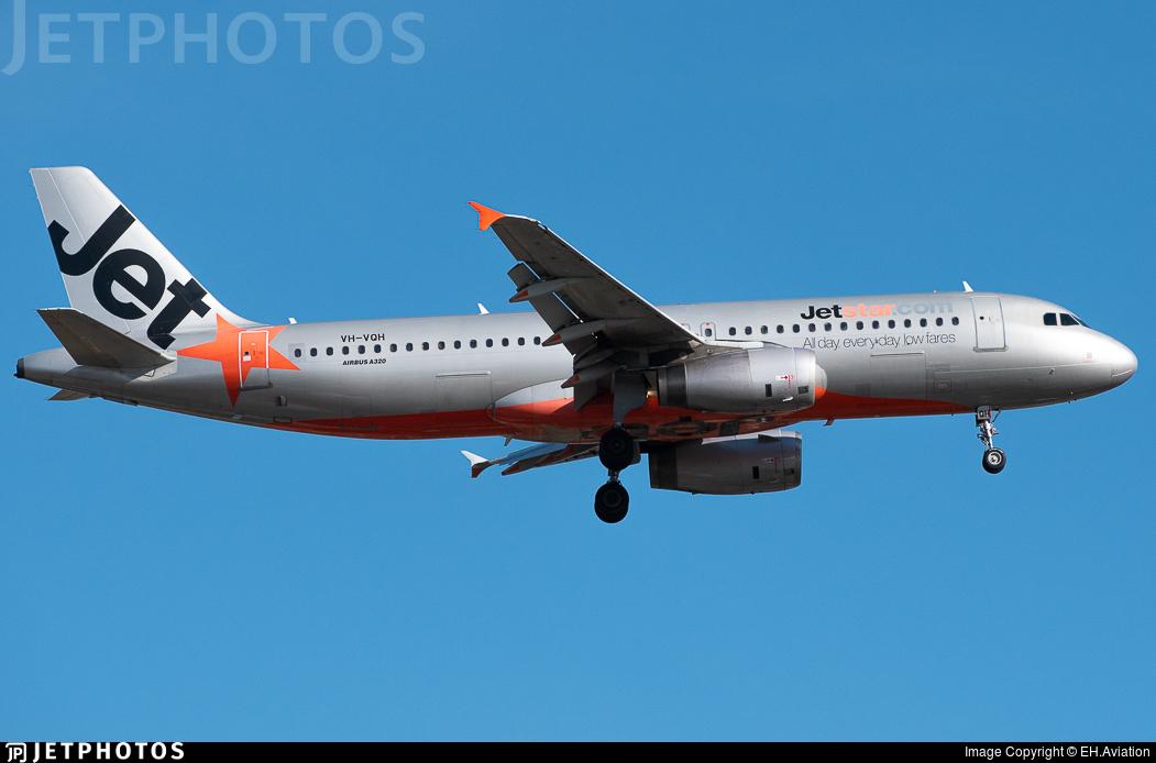 VH-VQH - Airbus A320-232 - Jetstar Airways
