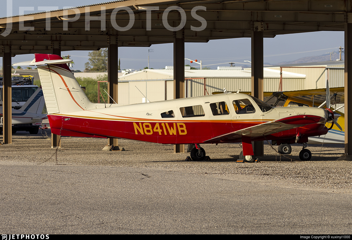 N841WB - Piper PA-32RT-300T Turbo Lance II - Private