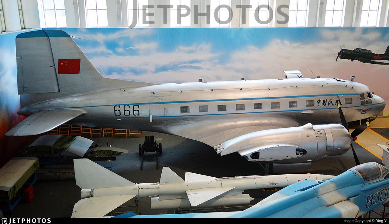 666 - VEB Flugzeugbau IL-14P - Civil Aviation Administration of China (CAAC)