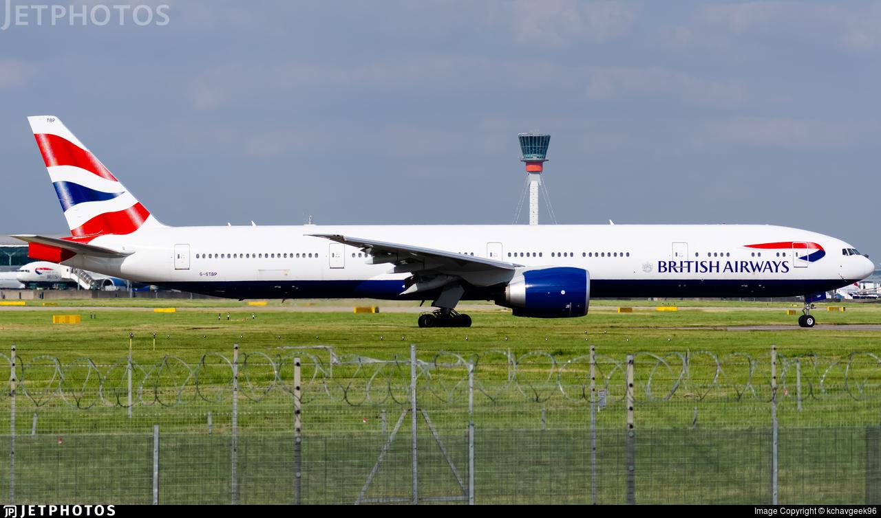 G-STBP - Boeing 777-336ER - British Airways