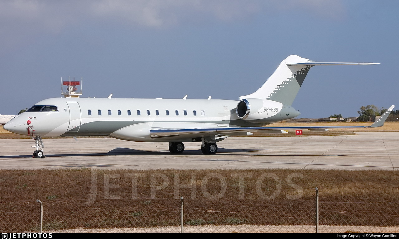 9h rss bombardier bd 700 1a10 global 6000 private wayne