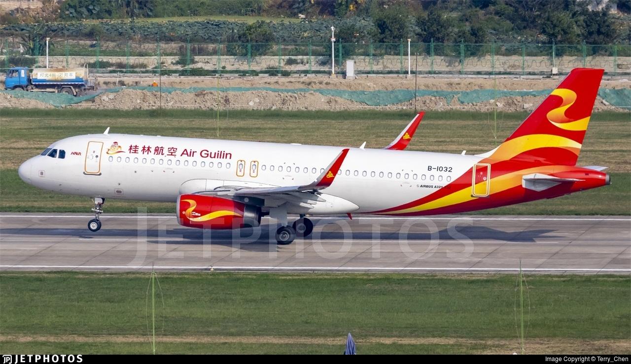 B-1032 - Airbus A320-232 - Air Guilin