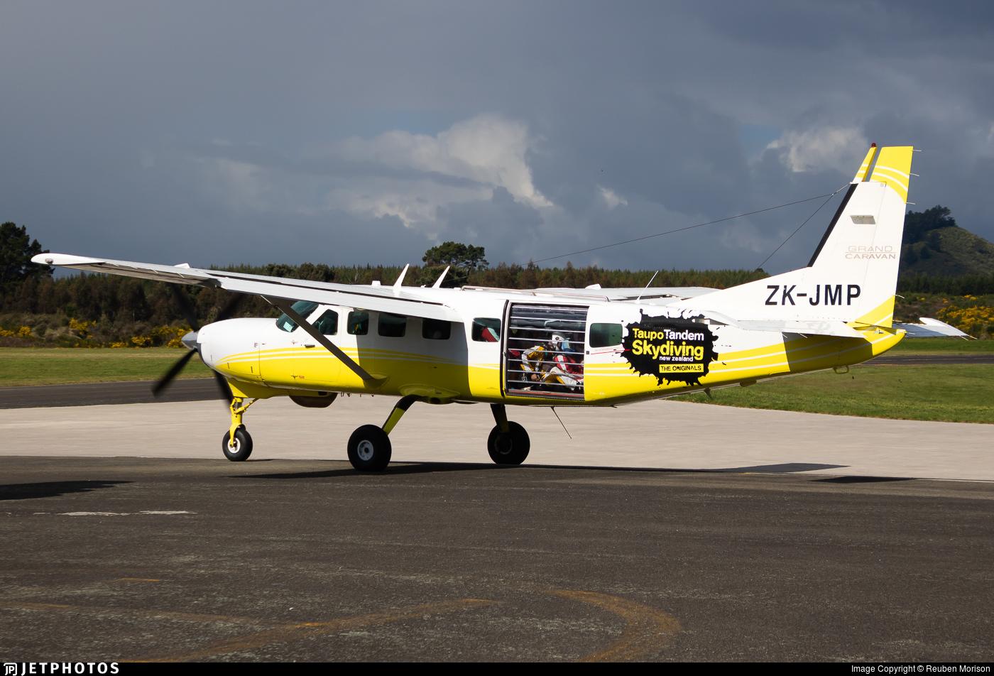 ZK-JMP - Cessna 208B Grand Caravan - Taupo Tandem Skydiving