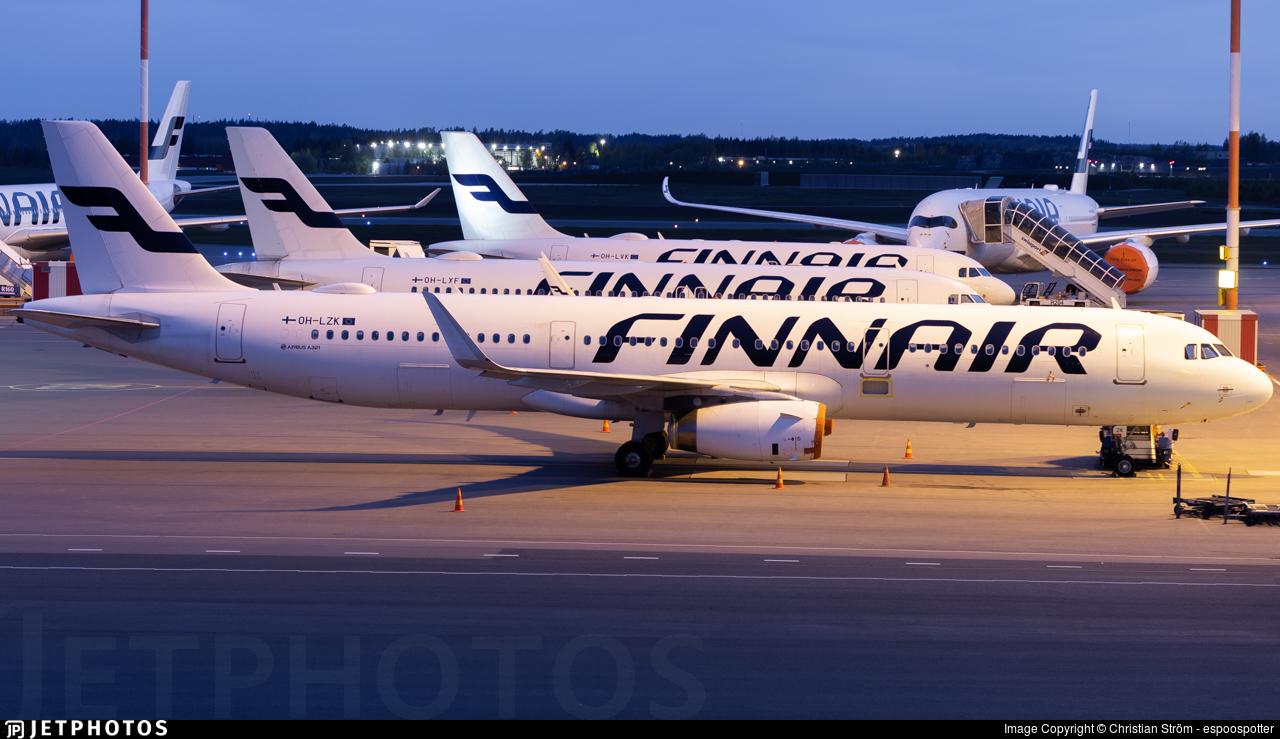 OH-LZK - Airbus A321-231 - Finnair