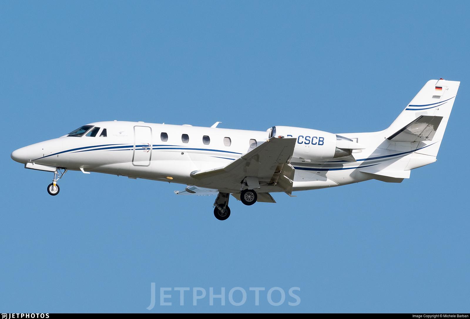 D-CSCB - Cessna 560XL Citation Excel - Silver Cloud Air