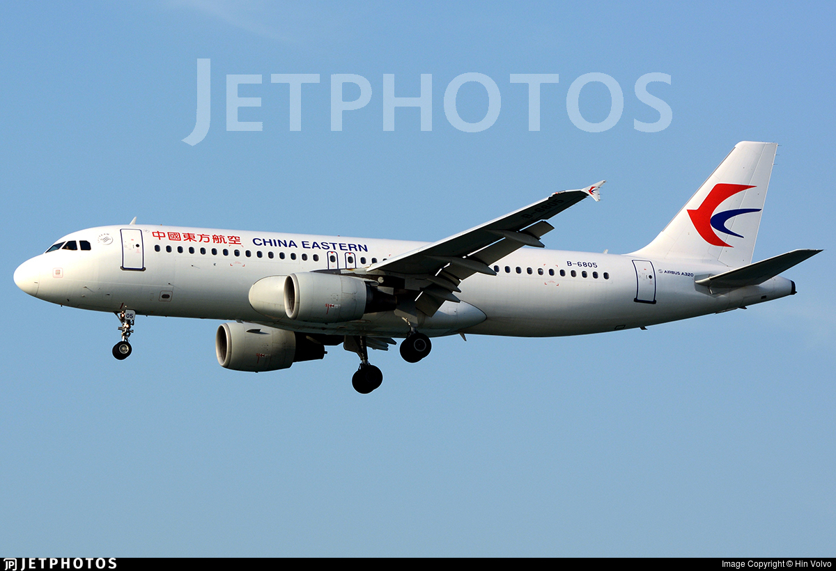 B-6805 - Airbus A320-214 - China Eastern Airlines