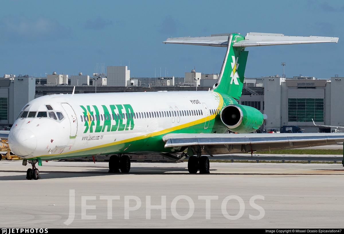 YV1240 - McDonnell Douglas MD-81 - Laser Airlines