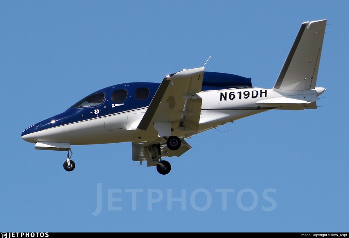 N619DH - Cirrus Vision SF50 G2 - Private