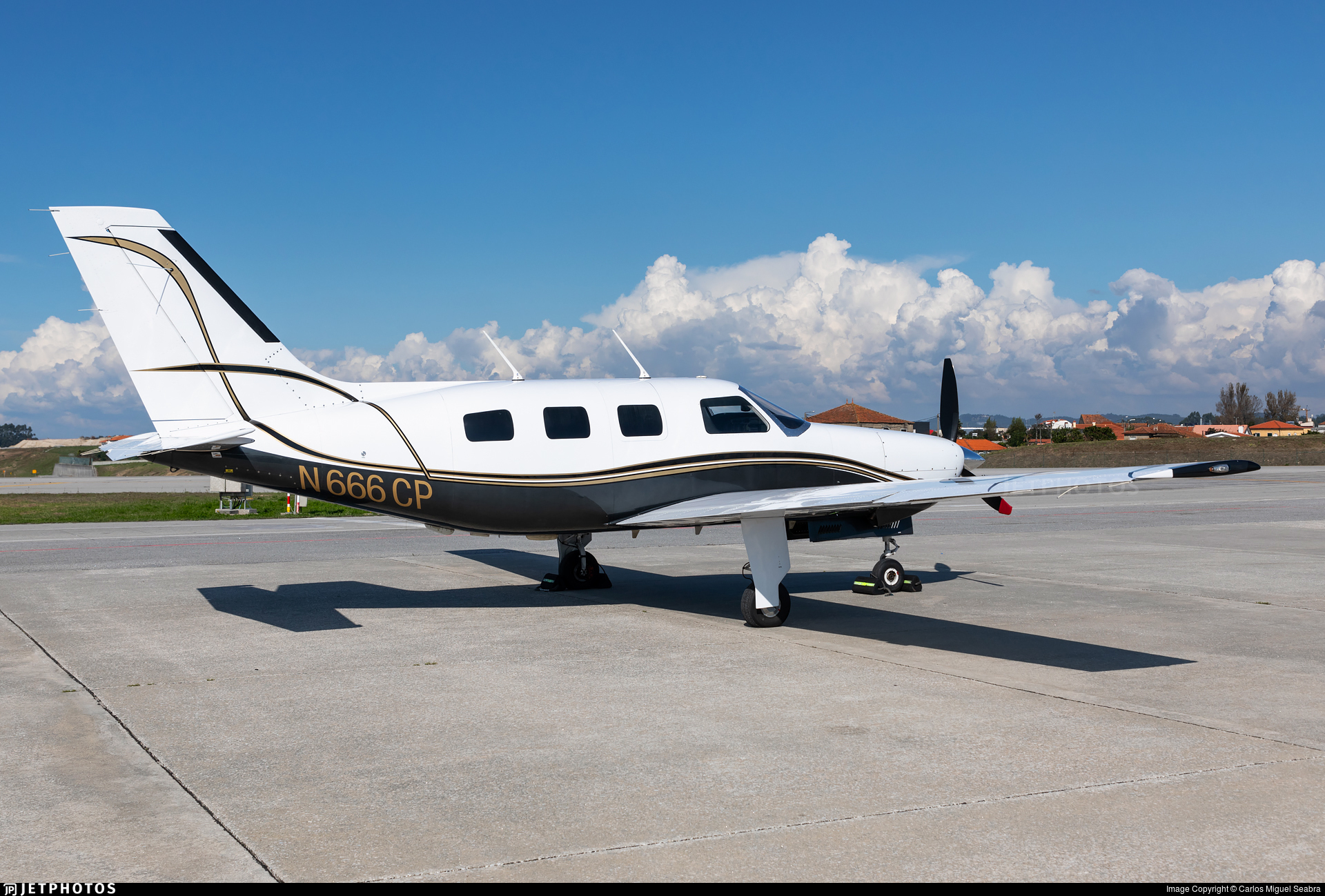 N666CP - Piper PA-46-310P Malibu - Private