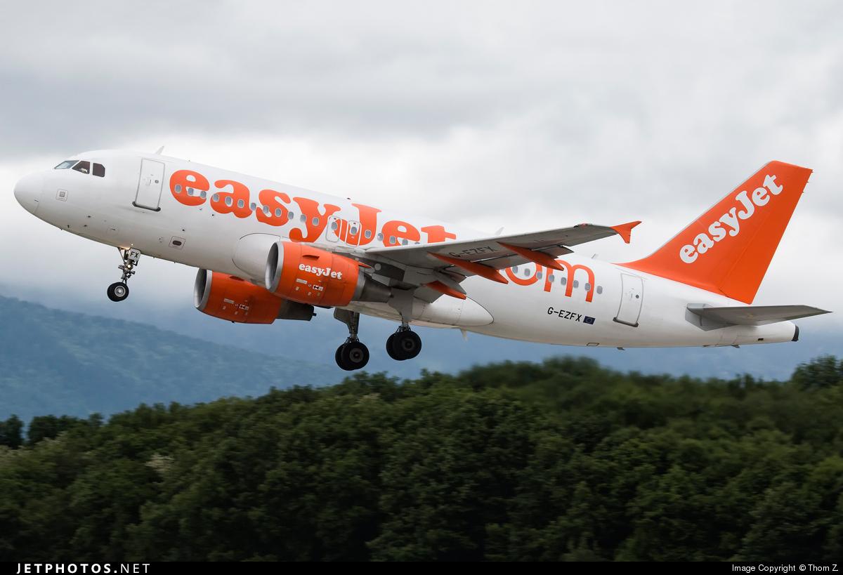 G-EZFX - Airbus A319-111 - easyJet