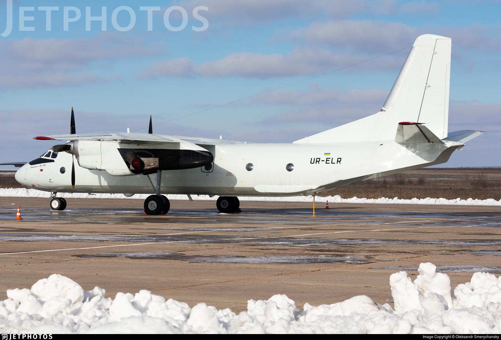UR-ELR - Antonov An-26-100 - Air Urga