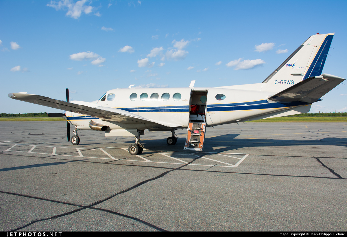 C-GSWG - Beechcraft B100 King Air - Max Aviation