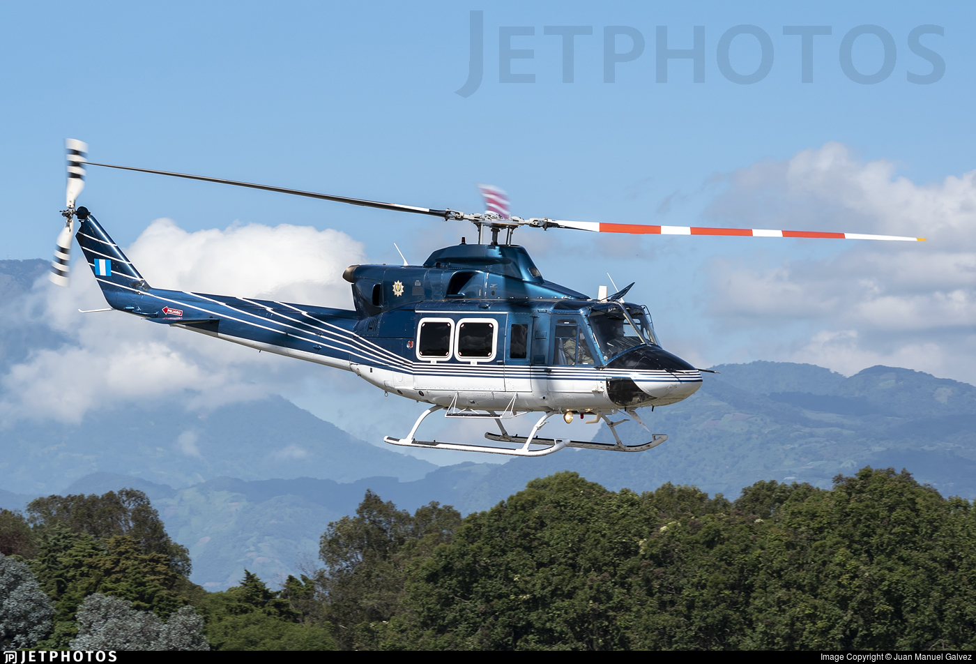 101 - Bell 412EP - Guatemala - Air Force
