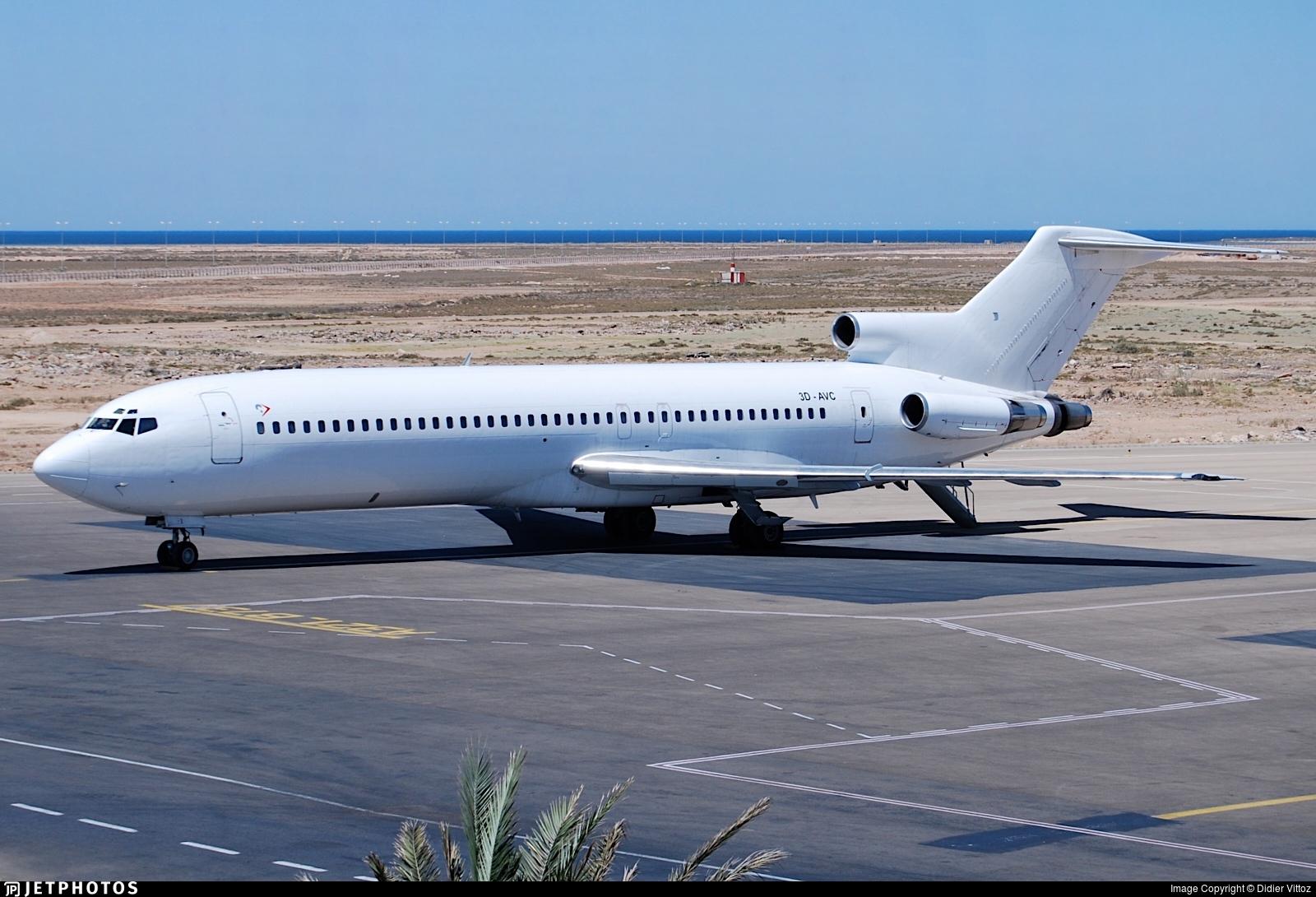 3D-AVC - Boeing 727-251(Adv) - Aero Africa