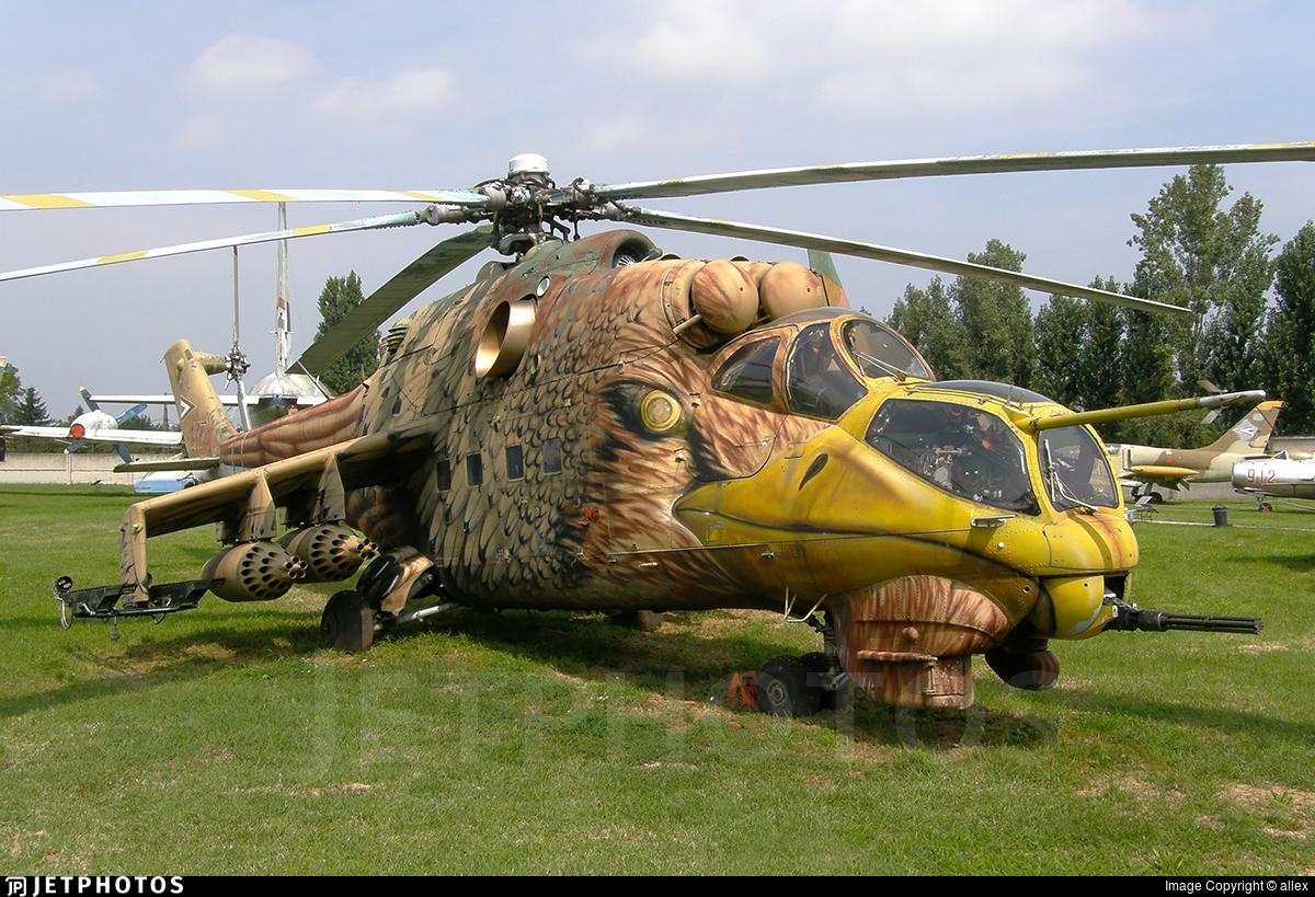 117 - Mil Mi-24D Hind D - Hungary - Air Force