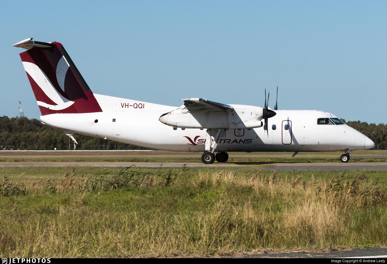 VH-QQI - Bombardier Dash 8-102 - Skytrans