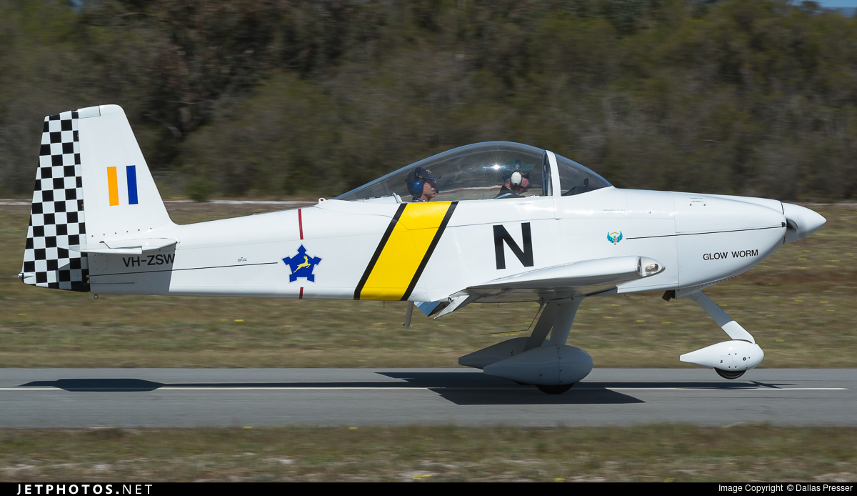 VH-ZSW - Vans RV-8A - Private