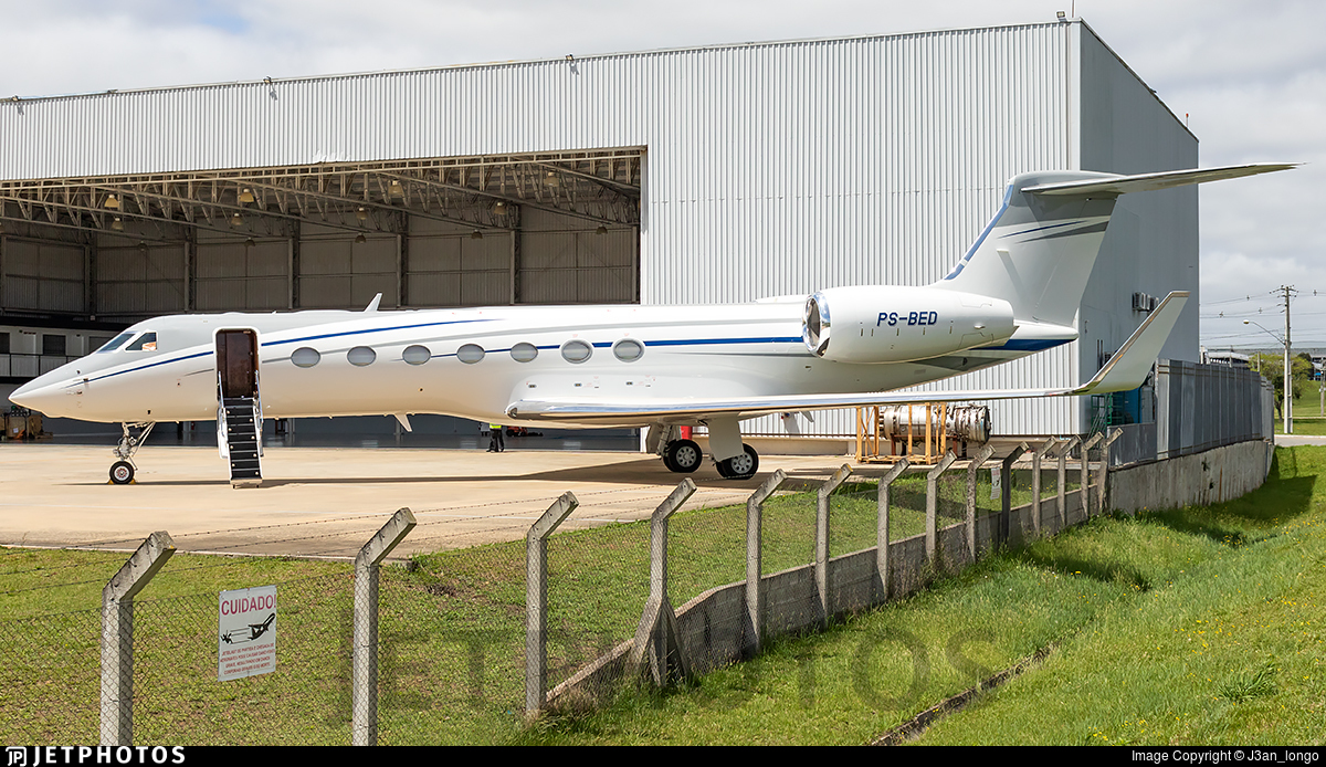 PS-BED - Gulfstream G550 - Private