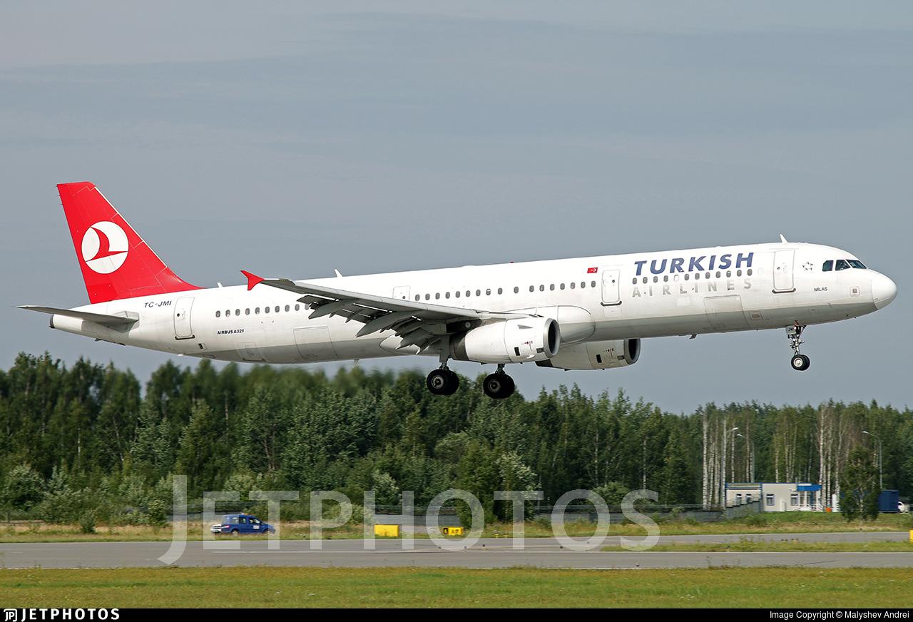 TC-JMI - Airbus A321-231 - Turkish Airlines