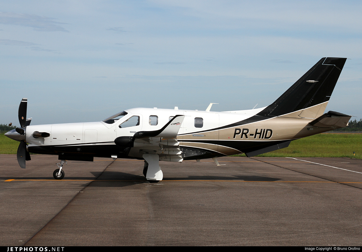 PR-HID - Socata TBM-900 - Private