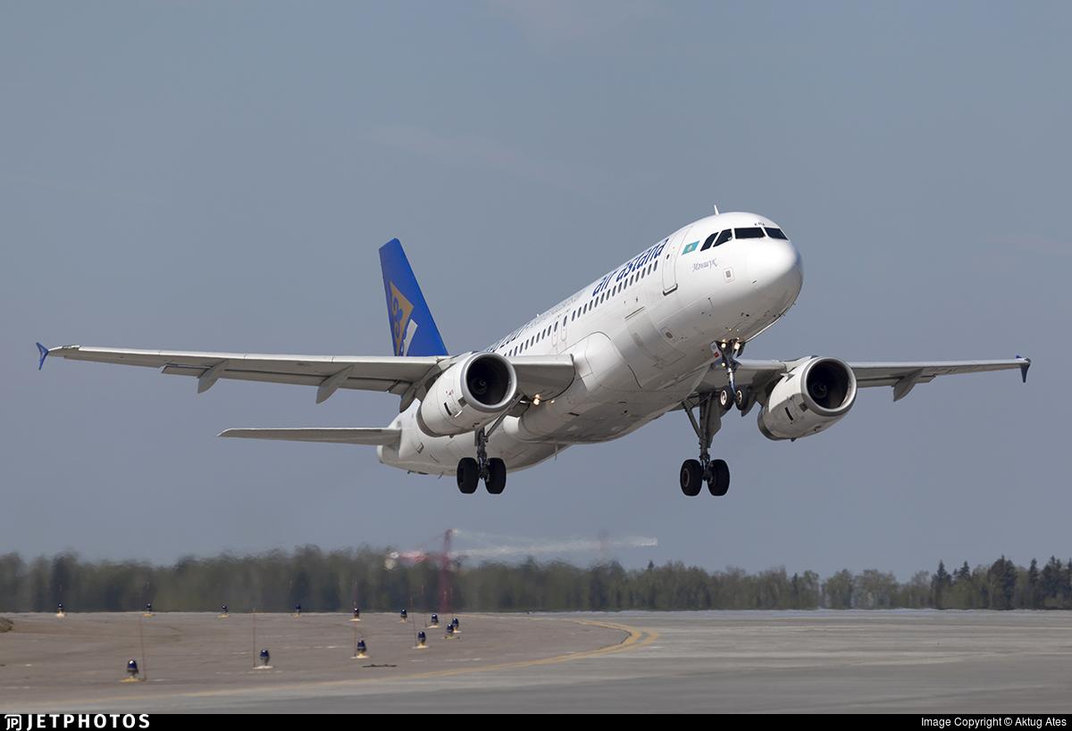 P4-KBA - Airbus A320-232 - Air Astana