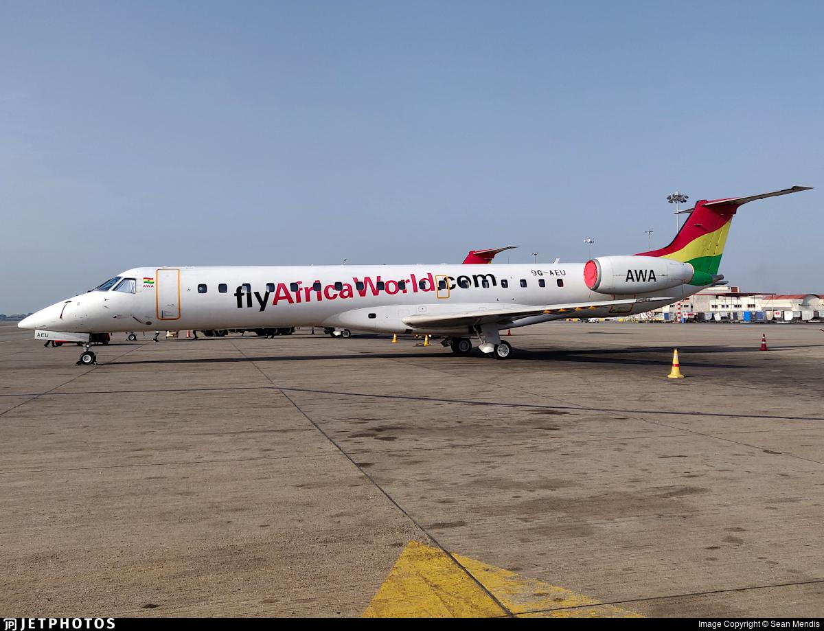 9G-AEU - Embraer ERJ-145LI - Africa World Airlines