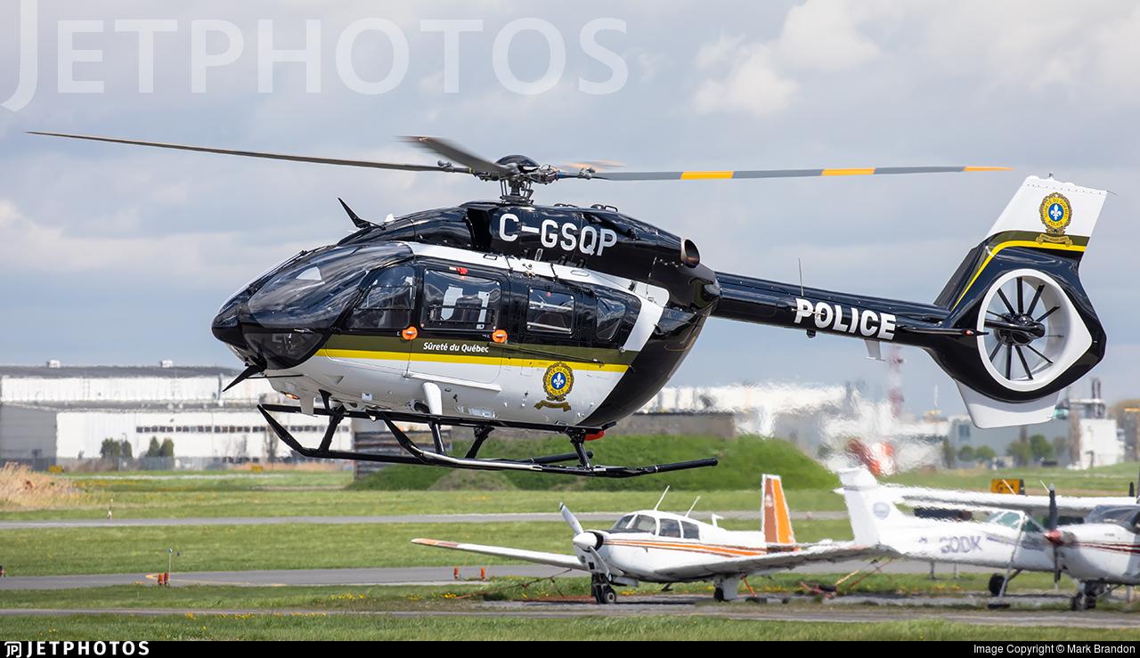 C-GSQP - Airbus Helicopters H145 - Canada - Sûreté du Québec