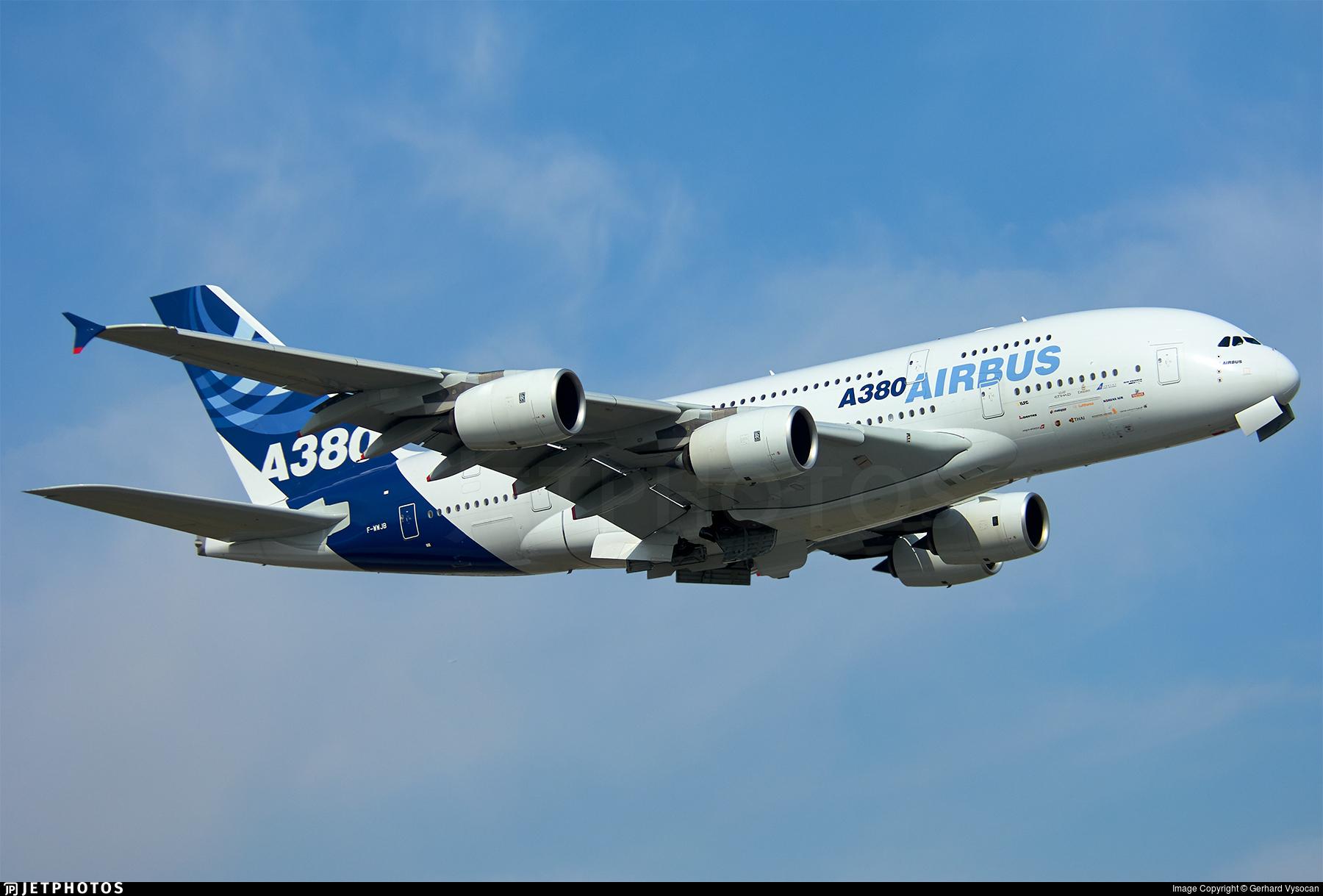 F-WWJB - Airbus A380-841 - Airbus Industrie