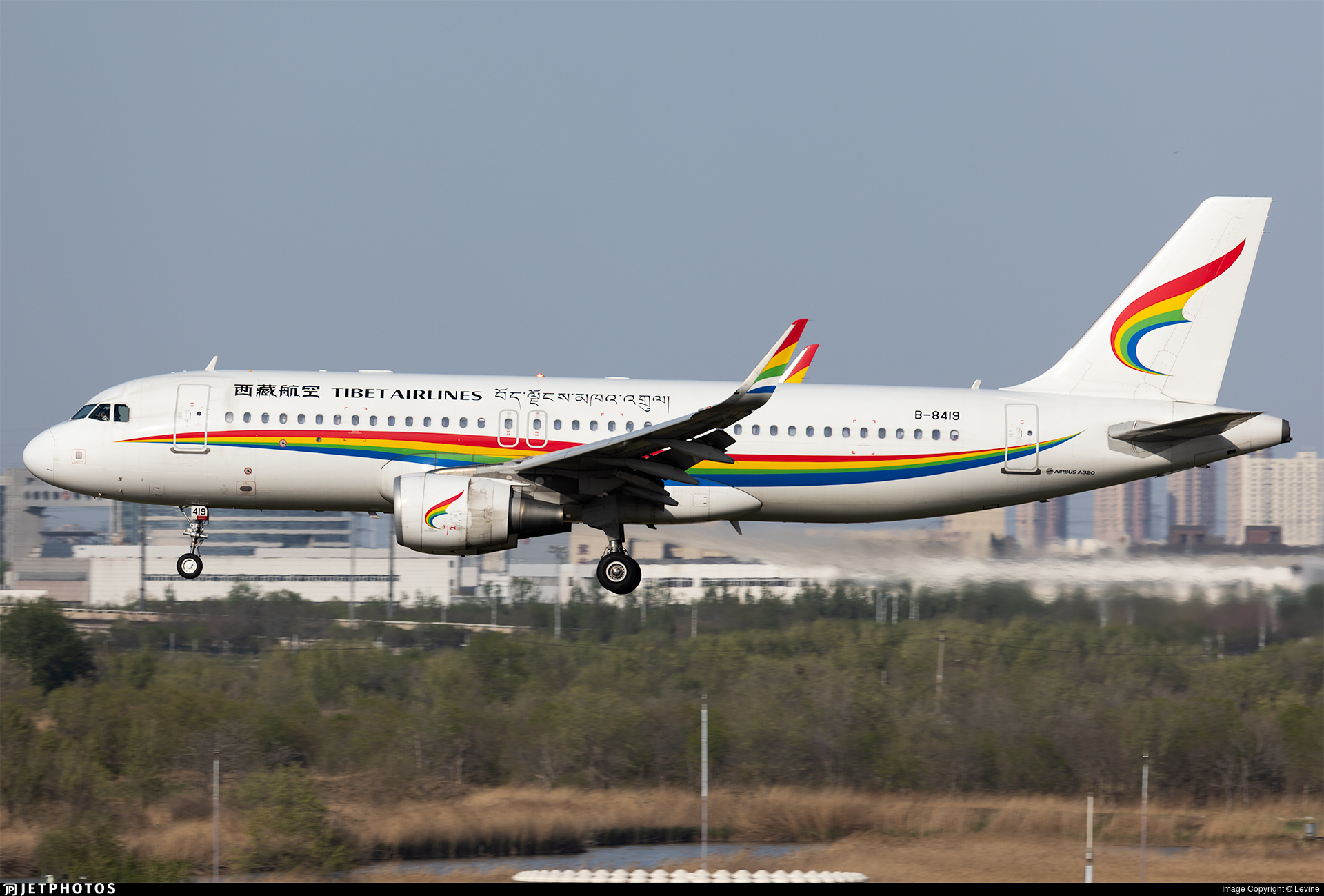 B-8419 - Airbus A320-214 - Tibet Airlines
