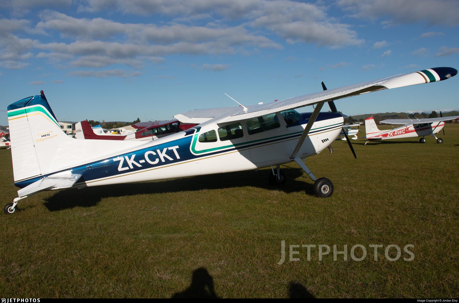 ZK-CKT - Cessna 185D Skywagon - Private