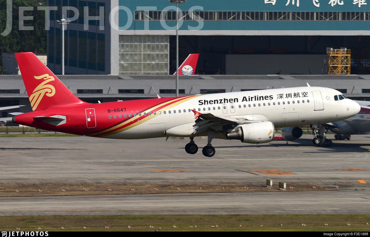 B-6647 - Airbus A320-214 - Shenzhen Airlines