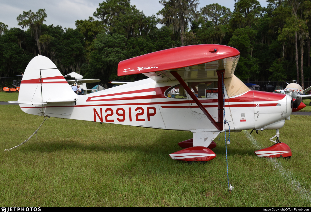 N2912P | Piper PA-22-150 Tri-Pacer | Private | Ton Peterbroers